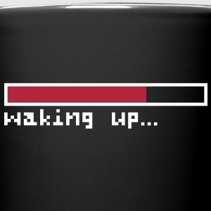Waking up pixels Mug - Tasse einfarbig