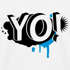 YO! Graffiti T-Shirts - Men's Premium T-Shirt
