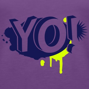 YO! Graffiti Tops - Frauen Premium Tank Top