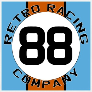 Retro Racing Company '88' T Shirt - Men's T-Shirt
