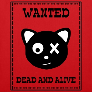 Wanted Schrödingers Katze Dead and Alive Bags & Backpacks - Tote Bag