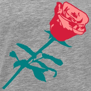 Beautiful red rose design T-Shirts - Men's Premium T-Shirt