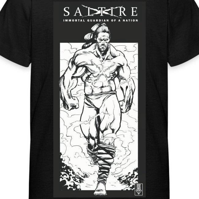 Saltire Annihilation B&W Tshirt Kids