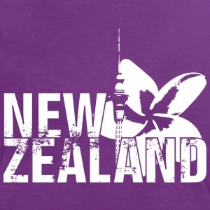 New Zealand T-Shirts - Frauen Kontrast-T-Shirt