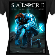 Design ~ Saltire Invasion TShirt Women's