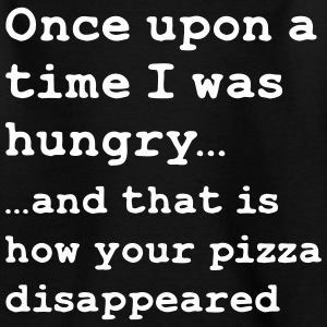 Once there was pizza - Kids' T-Shirt