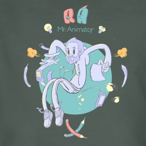 Mr. Animator. T-Shirts - Männer Bio-T-Shirt