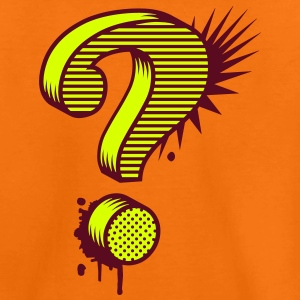 A question mark graffiti  Shirts - Kids' Premium T-Shirt
