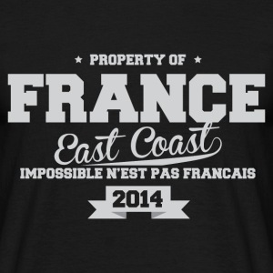 FRANCE east coast impossible n'est pas Fr Tee shirts - T-shirt Homme