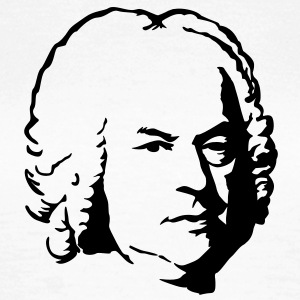Bach portret T-shirts - Vrouwen T-shirt