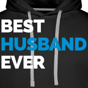 Best Husband Ever Puserot - Miesten premium-huppari