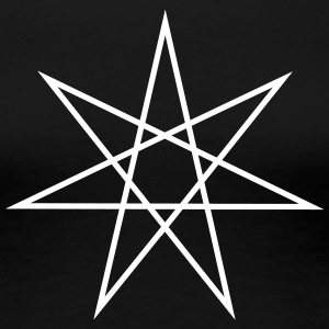 Elven Star, Heptagram, Fairy Star, Pagan, Wicca T-Shirts - Frauen Premium T-Shirt