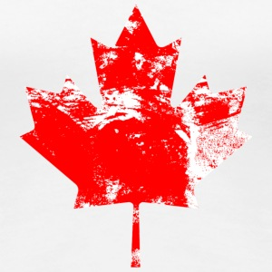 Canadian Maple Leaf T-Shirts - Frauen Premium T-Shirt