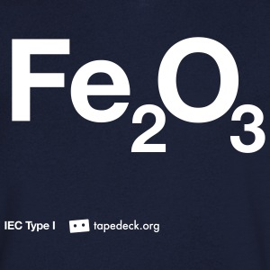 IEC Type I - Fe2O3 - Men's V-Neck T-Shirt