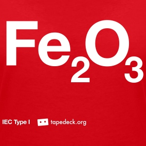 IEC Type I - Fe2O3 - Women's V-Neck T-Shirt