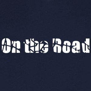 On the road t-shirt col V homme - T-shirt Homme col V