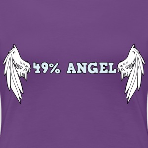 49%angel T-Shirts - Women's Premium T-Shirt