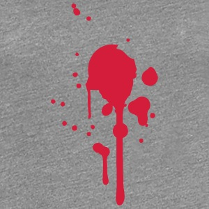 Bullet hole hit shot stabbed to death T-Shirts - Women's Premium T-Shirt