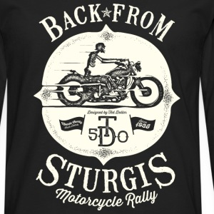 Back From Sturgis - T-shirt manches longues Premium Homme