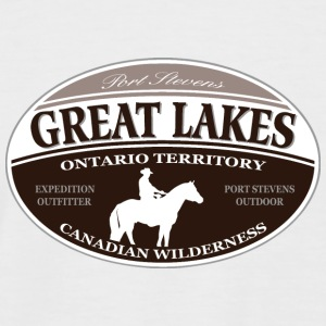 Great Lakes Tee shirts - T-shirt baseball manches courtes Homme