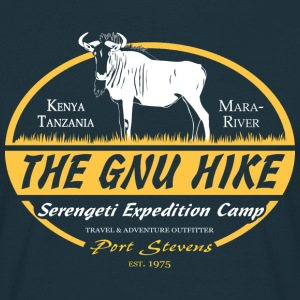 The Gnu Hike T-shirts - Mannen T-shirt