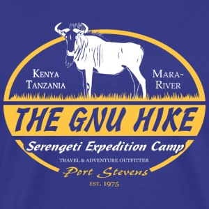 The Gnu Hike T-shirts - Mannen Premium T-shirt