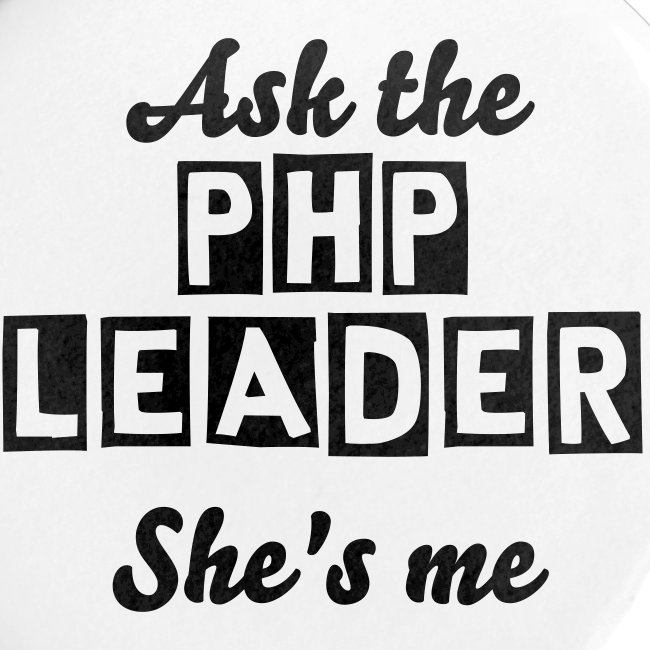 Badge PHP LEADER
