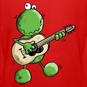 Rock and Pop Frog - Grenouille Manches longues - T-shirt manches longues Premium Ado