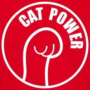 Cat Power (dark) T-shirts - T-shirt herr