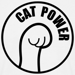 Cat Power T-Shirts - Männer T-Shirt