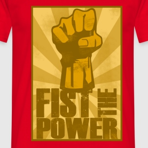 FIST THE POWER T-Shirts - Men's T-Shirt