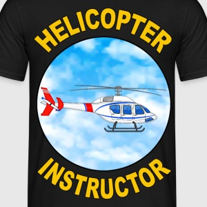 helicopter instructor T-Shirts - Männer T-Shirt