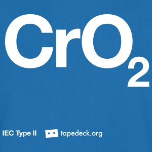 IEC Type II - CrO2 - T-shirt Homme col V