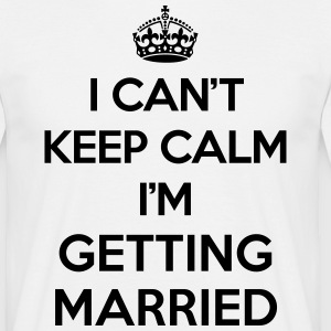 Keep Calm Married  Koszulki - Koszulka męska