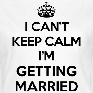 Keep Calm Married  Camisetas - Camiseta mujer
