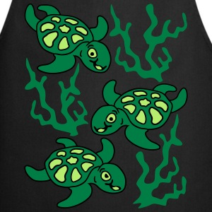 Turtles and Seaweed  Aprons - Cooking Apron