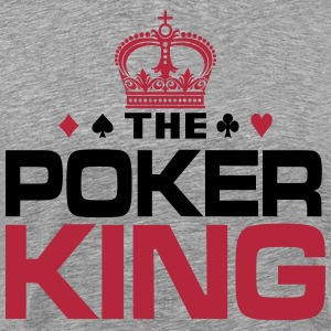 Poker King T-skjorter - Premium T-skjorte for menn