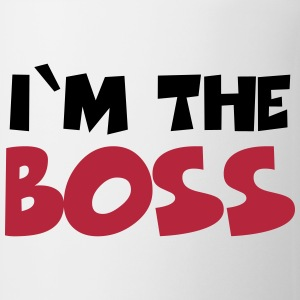 I'm the Boss Flaskor & muggar - Mugg