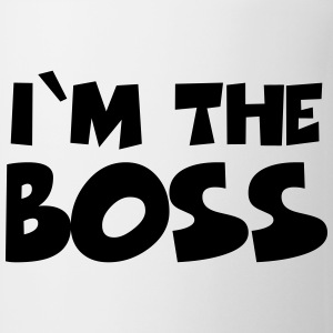 I'm the Boss Bottles & Mugs - Mug