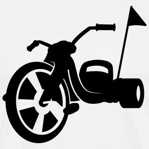 tricycle Chopper Buggy T-shirts - Herre premium T-shirt