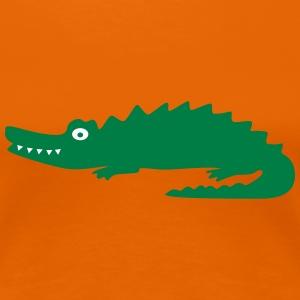 Crocodile T-Shirts - Frauen Premium T-Shirt