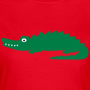 Crocodile T-Shirts - Frauen T-Shirt