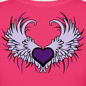 Heart with Wings T-shirts - Vrouwen Bio-T-shirt