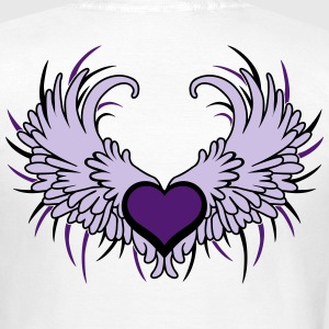 Heart with Wings T-shirts - T-shirt dam