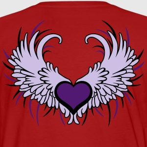 Heart with Wings T-shirts - Organic mænd