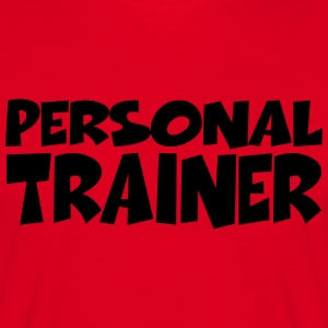 Personal Trainer T-shirts - Herre-T-shirt