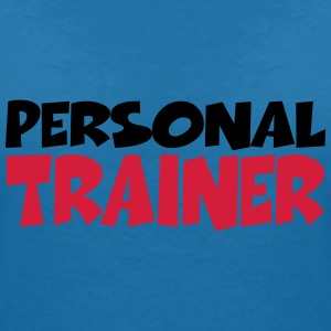 Personal Trainer T-shirts - T-shirt med v-ringning dam