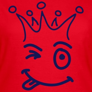 smile_kroon_sc1 T-shirts - Vrouwen T-shirt