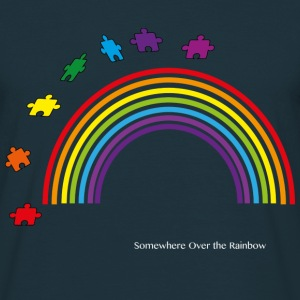 Somewhere Over the Rainbow - Men's T-Shirt