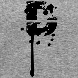 D graffiti stamp drops T-Shirts - Men's Premium T-Shirt